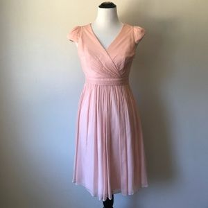J.Crew Pink Silk Dress Size 4
